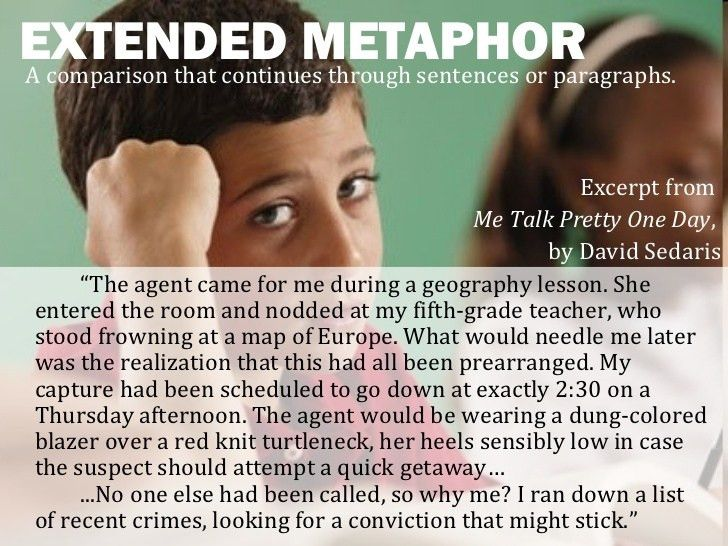 Metaphors - Direct, Implied, and Extended