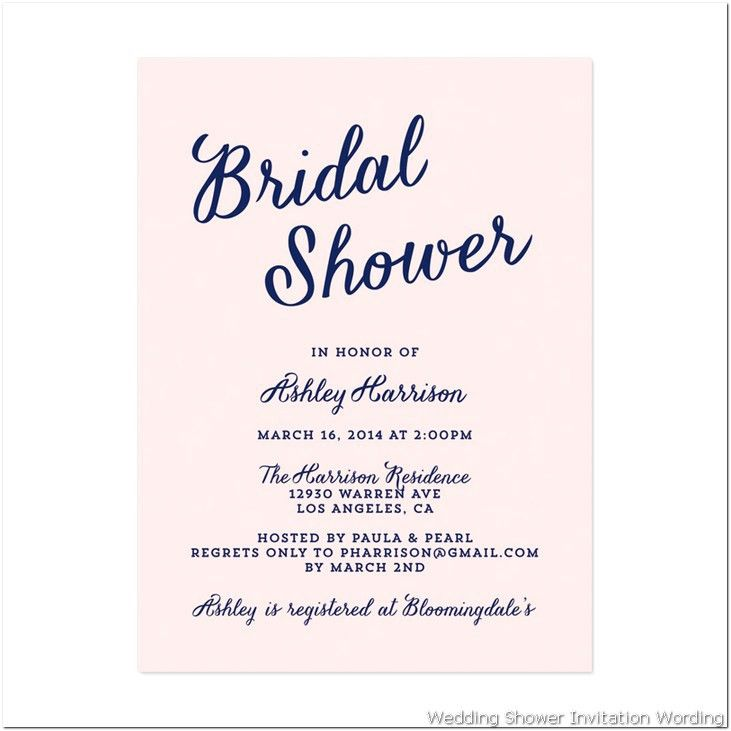 Bridal Shower Invitations Etiquette | christmanista.com