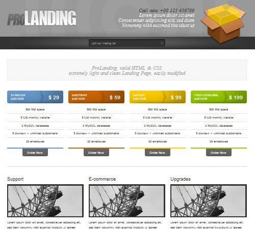 40+ Free and Premium Landing Page Templates | The Design Work