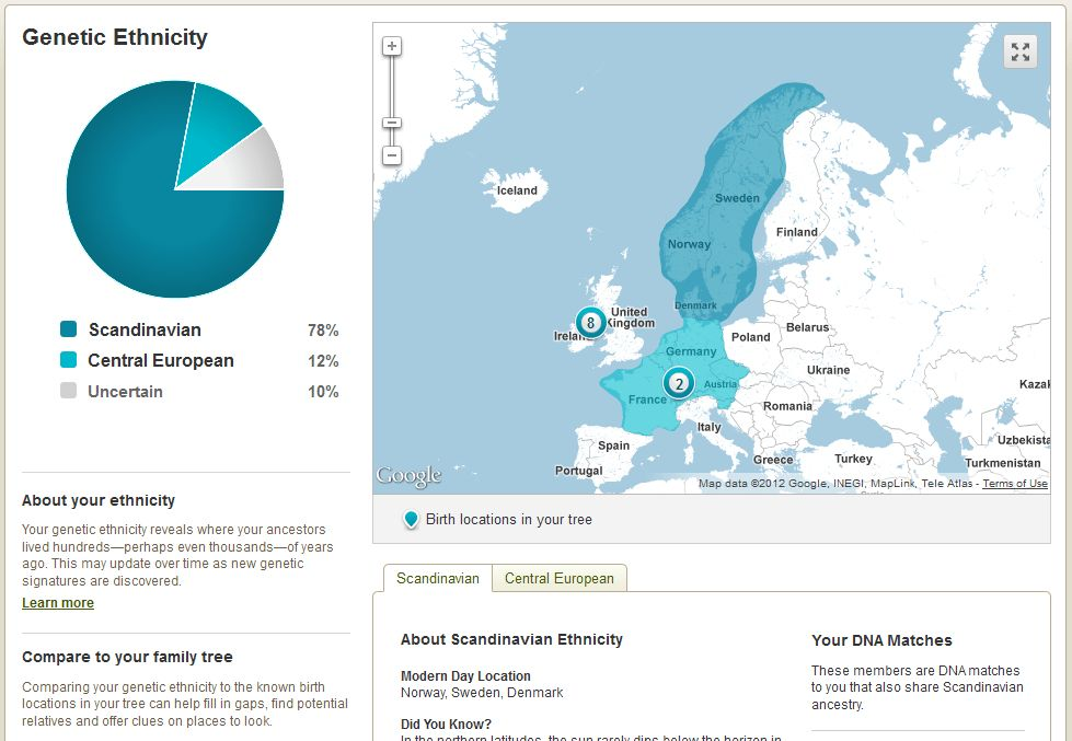 A Review of AncestryDNA – Ancestry.com's New Autosomal DNA Test ...