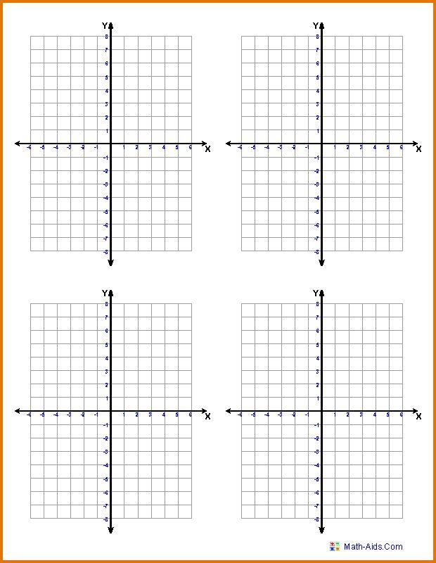 MATH GRAPH PAPER.graphing Coordinate Plane 4quads.png - sop format ...