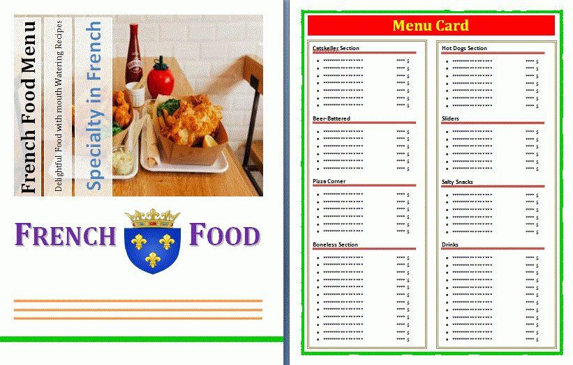 Menus Templates. top 35 free psd restaurant menu templates 2017 ...