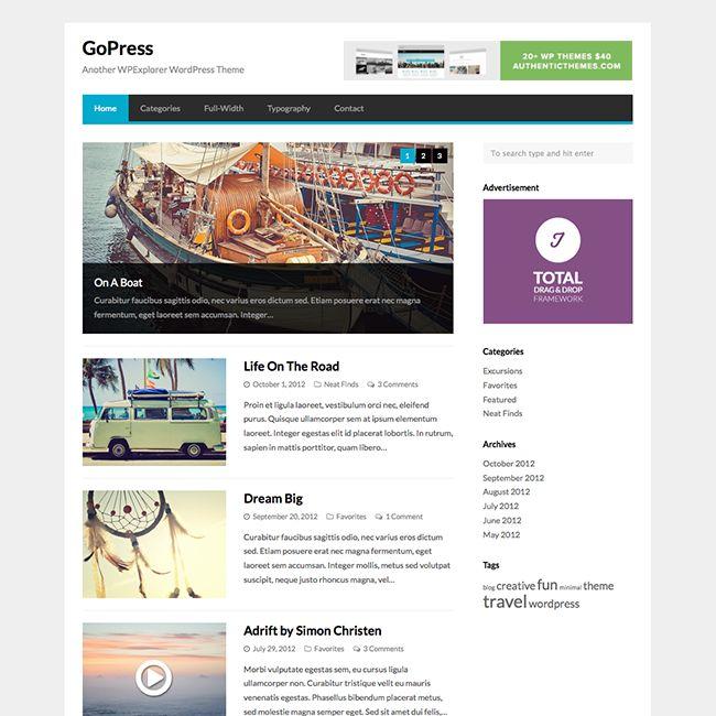 15 Best Free WordPress Themes for 2017 - WPExplorer