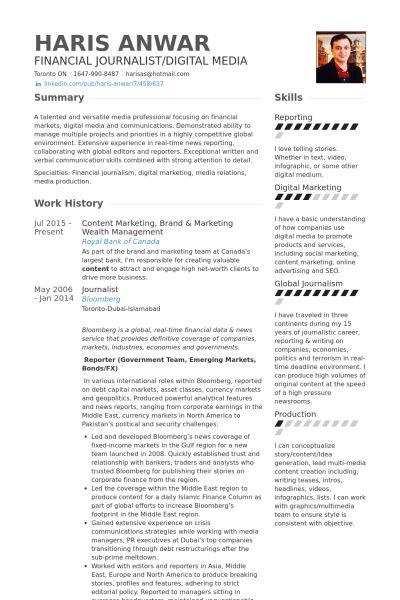Management Resume samples - VisualCV resume samples database