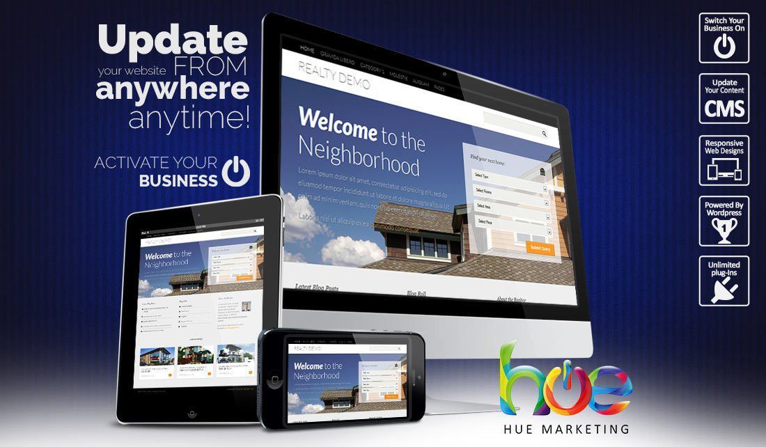 Property Website Design Ideas | Hue Marketing