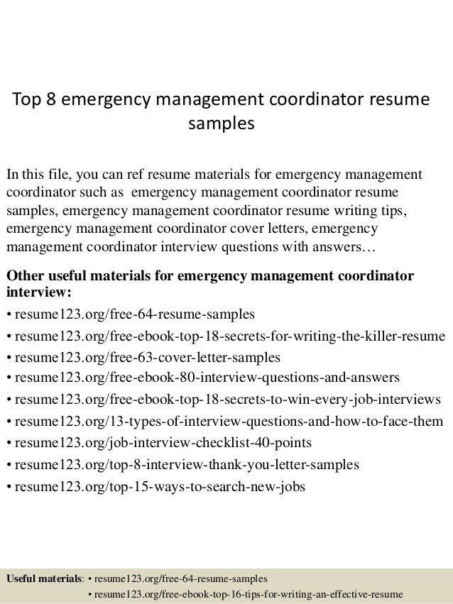 top-8-emergency-management-coordinator-resume-samples -1-638.jpg?cb=1431554949