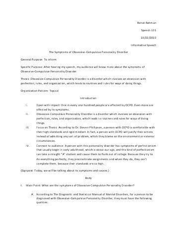 Impromptu Speech Template. Document Templates In Word Document ...