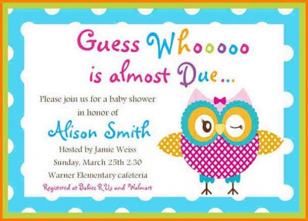 Top 20 Baby Shower Invitations Templates Free For Word Which Viral ...