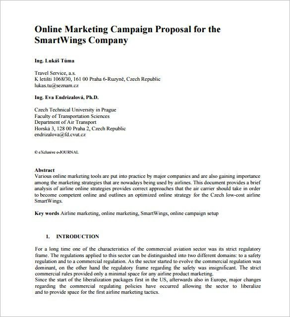 19+ Campaign Proposal Template | How To Create An Effective ...