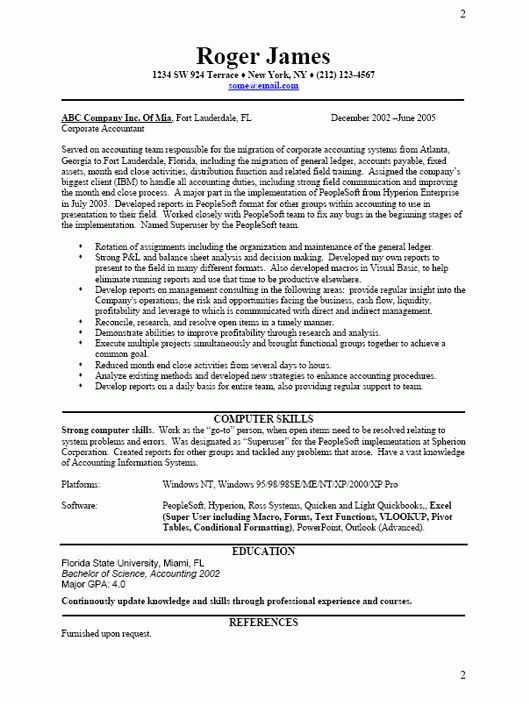 business resume sample free resume template professional choose - Business Resume Template Word