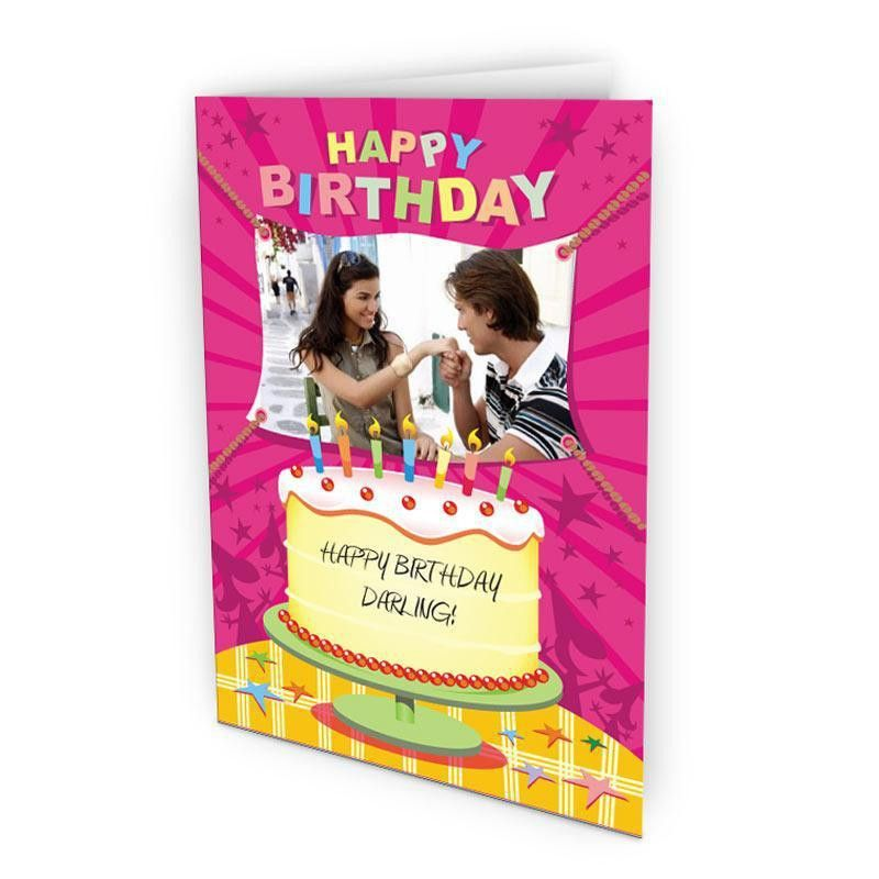 birthday customized card send personalised greeting cards online ...