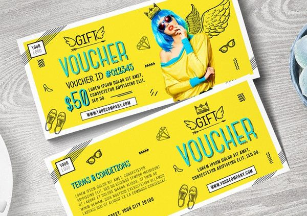 Creative Gift Voucher Design | Designs.net
