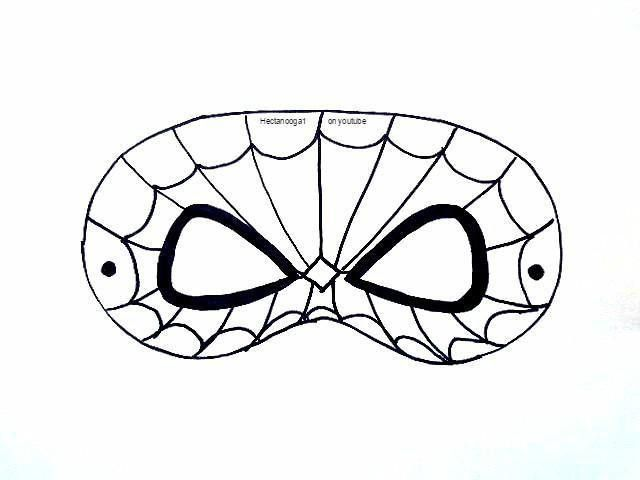 8) Name: 'Paper Crafts : FREE PRINTABLE, SPIDERMAN MASK TEMPLATE ...