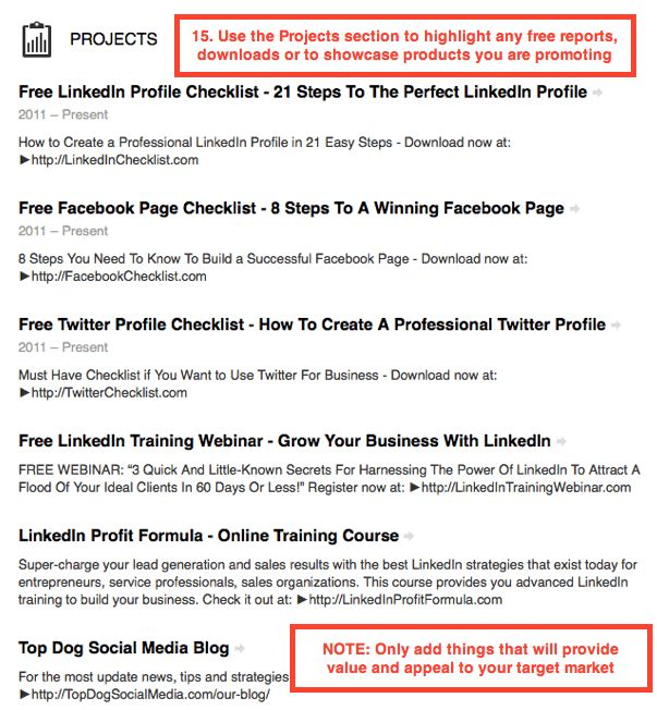 LinkedIn Training: 21 Steps To The Perfect LinkedIn Profile