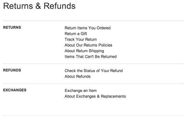 Sample Return Policy for ecommerce stores - TermsFeed