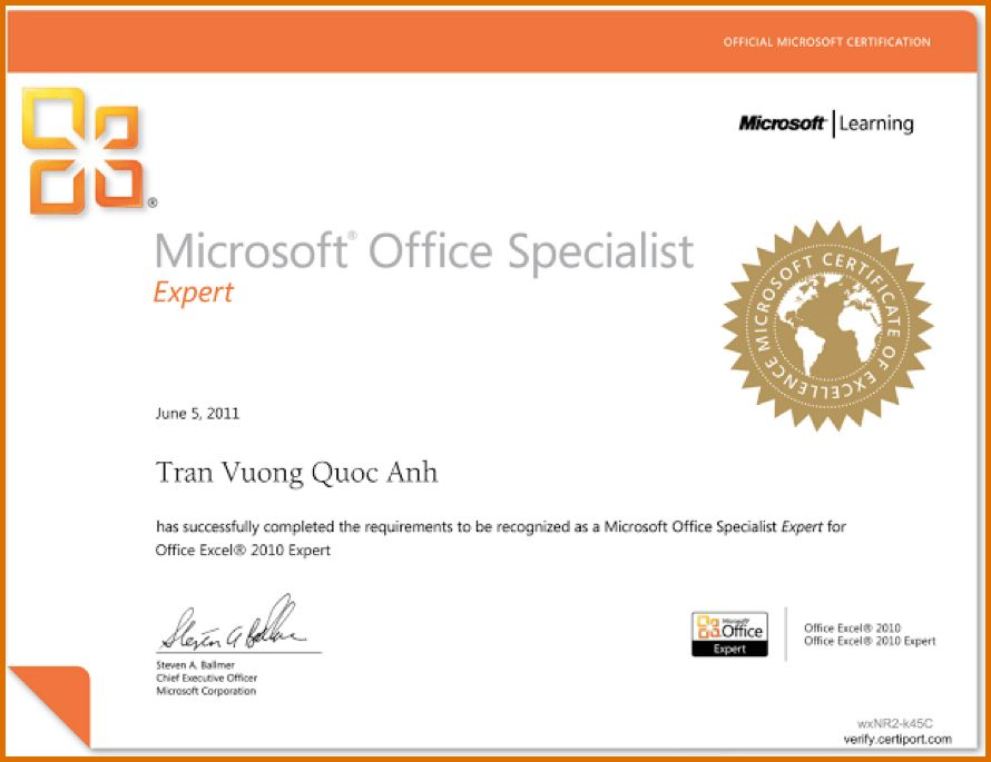 microsoft office certificate templateReference Letters Words ...