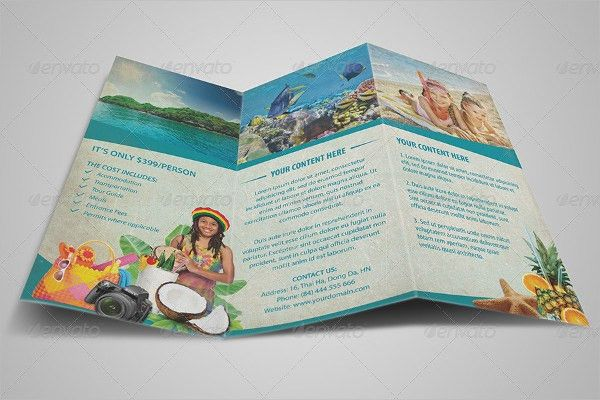 34+ Tri-Fold Brochure Examples, Samples