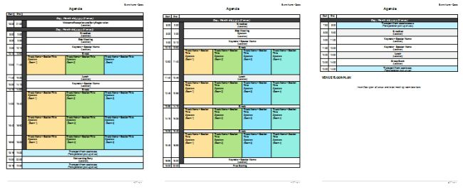 Meeting Planner Template - Organize Your Agenda Meetings