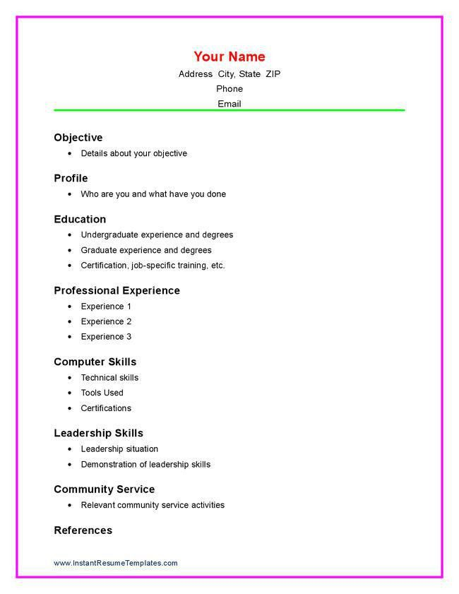 Sample High School Resume. High School Student Resume Example Best ...
