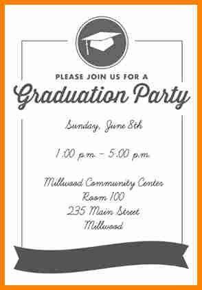 Free Printable Graduation Invitation Templates – gangcraft.net