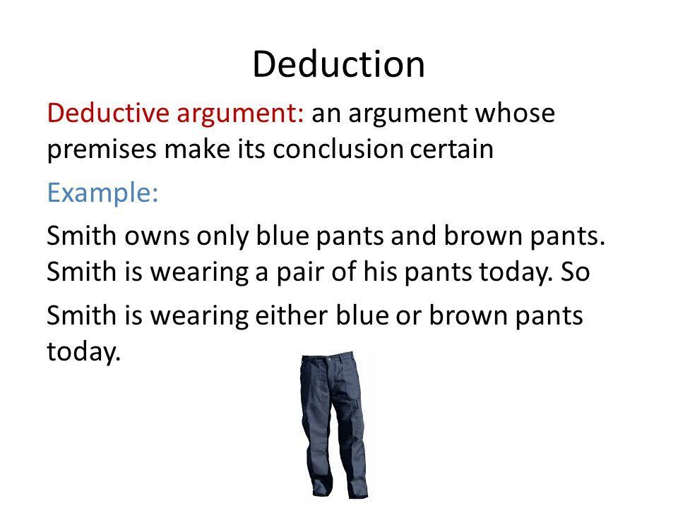 Deductive and Inductive Reasoning A Framework for Audience ...