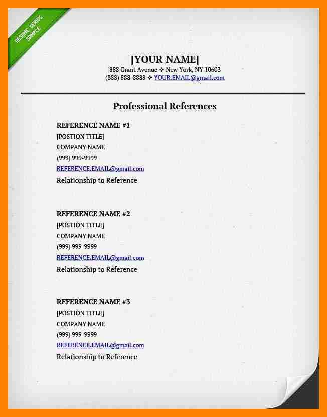 7+ list of professional references | doctors signature