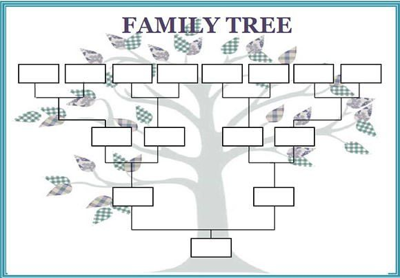 family tree examples templates