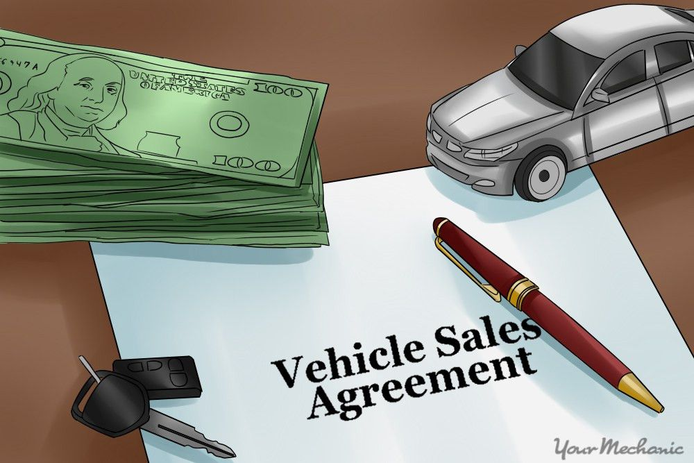 How to Write a Contract For Selling Your Car | YourMechanic Advice
