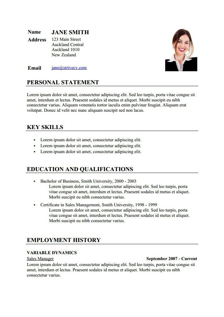 Sample Curriculum Vitae In French Sample Customer Service Resume ...