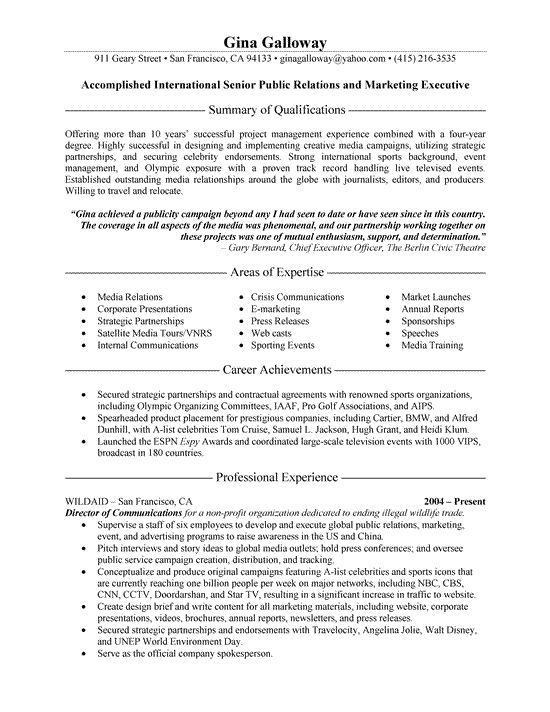 The 25+ best Executive resume ideas on Pinterest | Executive ...