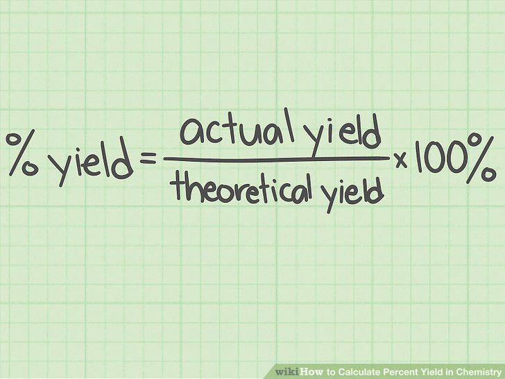 The Best Way to Calculate Percent Yield in Chemistry - wikiHow