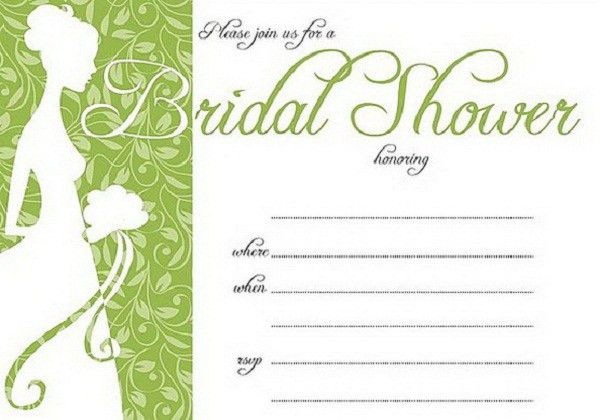 Free Bridal Shower Invitation Templates - plumegiant.Com