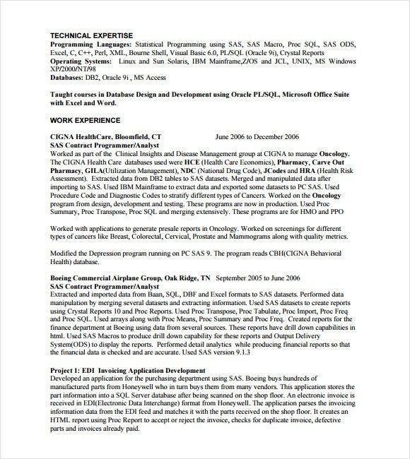 mainframe resume bill schuck mainframe programmer 2013 resume