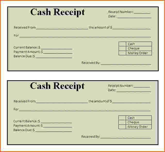 Customer Receipt Template Word - cv01.billybullock.us