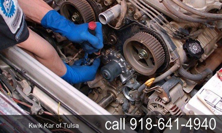 Water Pump Repair   Kwik Kar Tulsa