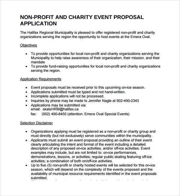 Event Management Event Proposal Template  Leo Isaac