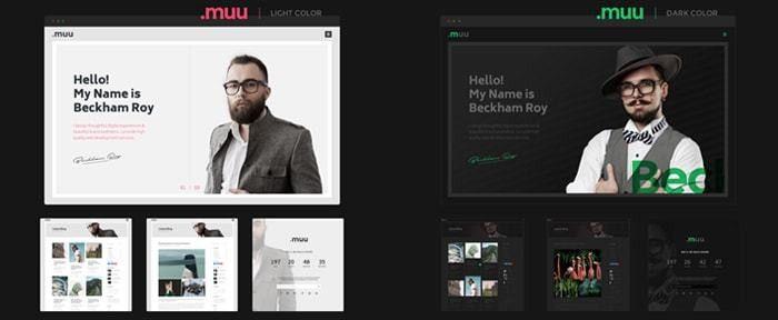 MUU - Creative Resume and Portfolio Template | Design Shack