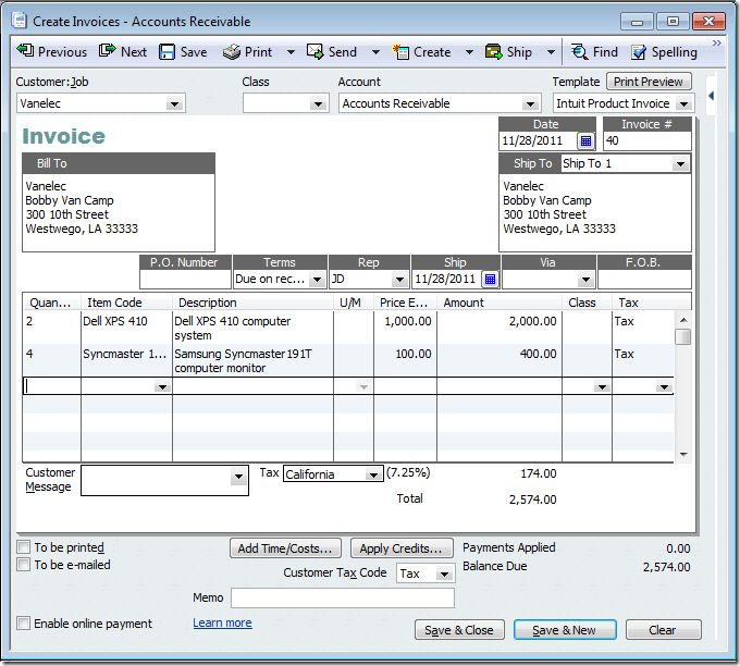 Transferring QuickBooks Invoices to Bills with Karl Irvin's ...