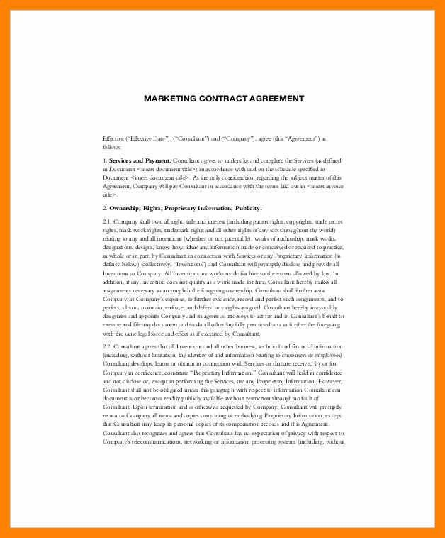 Service Contract Sample. Printable Sample It Services Contract ...