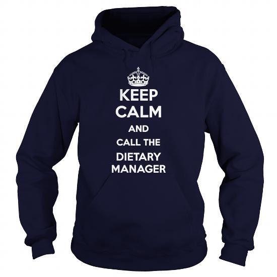 DIETARY MANAGER | Job Shirts | Pinterest