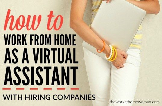 to Work From Home as a Virtual Assistant