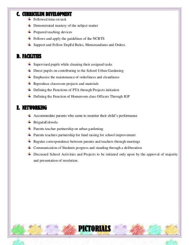 Accomplishment Report. 7 Accomplishment Report: Grade Six Sample ...