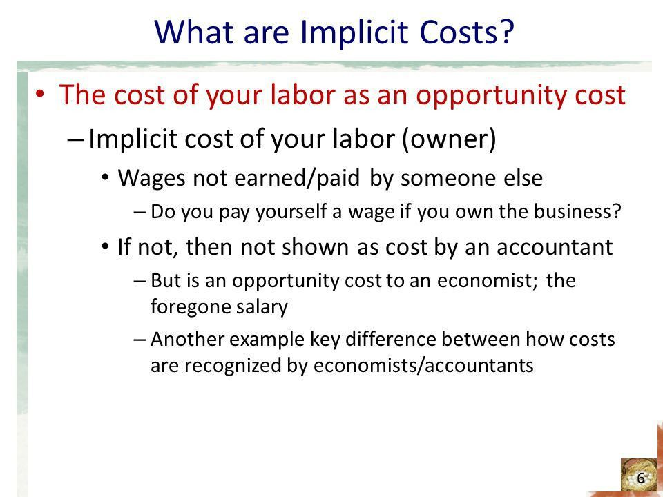 The Costs of Production - ppt download