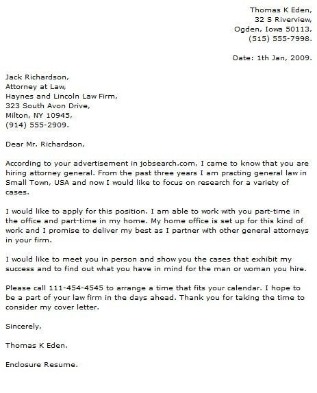 Legal Cover Letter Examples inside Social Work Cover Letter ...