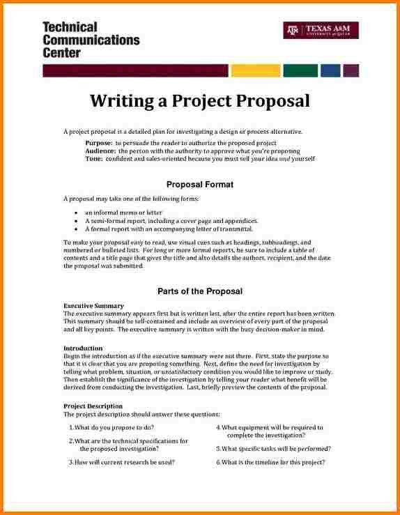 7+ sample of project proposal | quote templates
