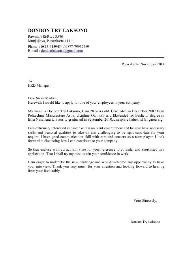 Cover Letter Example: Entry Level Welding Cover Letter Sample