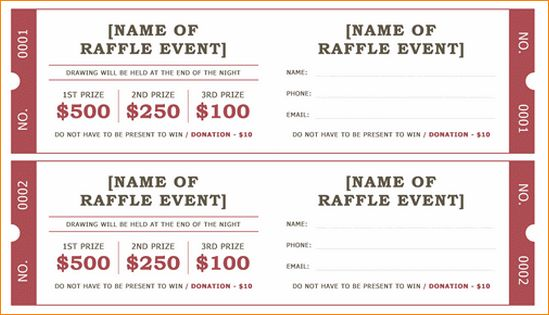 8+ raffle ticket template word | academic resume template