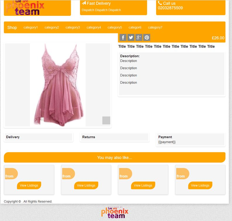 Create Free Responsive Ebay Listing Auction HTML Template Designs
