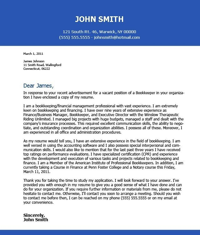 sample excellent cover letter successful cover letter examples ...