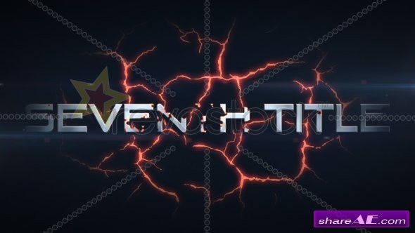 Action Titles Intro - After Effects Project (Revostock) » free ...